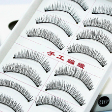 10. Taiwan post hand woven false eyelashes 216 cotton stalk