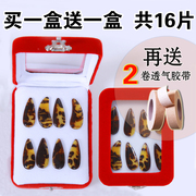 Zheng nail children adult professional nail groove plane medium and small 16 Zheng send tape