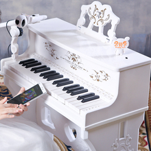 Bevenlo, childrens electronic piano, microphone, piano, --6 toys, toys for boys and girls