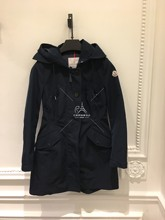 Paris counter purchase Ms. Moncler windbreaker 18 spring and summer AUDREY waist hooded windbreaker jacket