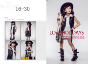 Show the new studio children photography clothing 8-10 years old girl han edition dress fashion pictorial art photos