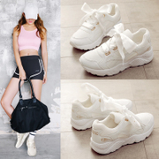 Ins super fire shoes and sport shoes, cashmere winter Korean ulzzang 2017 new students running shoes all-match Harajuku