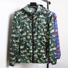 Gucci new summer outdoor camouflage coat skin clothing female coat jacket thin air travel