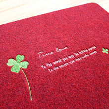 Home bathroom kitchen and bathroom door to door doormat mat anti-skid water toilet mat carpet custom