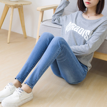 In the autumn of 2017 new high waisted trousers denim shorts female version of all-match students relaxed significantly thin hot pants tide