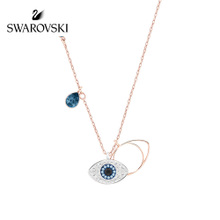 Swarovski Devil's Eye Necklace Fashion Temperament Short Clavicle Jewelry Gifts for girlfriend