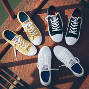 Ulzzang canvas shoes spring 2017 female new all-match Korean white shoe student street shoes white shoes