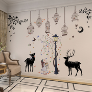 Self-adhesive stickers wallpaper dormitory bedroom wall decor bedroom living room children's room wall stickers stickers creative