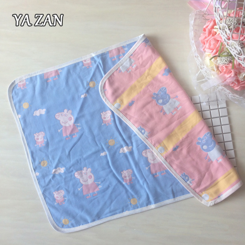 Yazan mini baby blanket cotton gauze is the air conditioning room baby nursery children are covered by thin spring