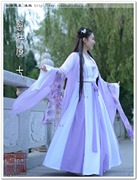 The new fairy costume Hanfu clothing female waist skirt costumes and daily improved guzheng portrait photography