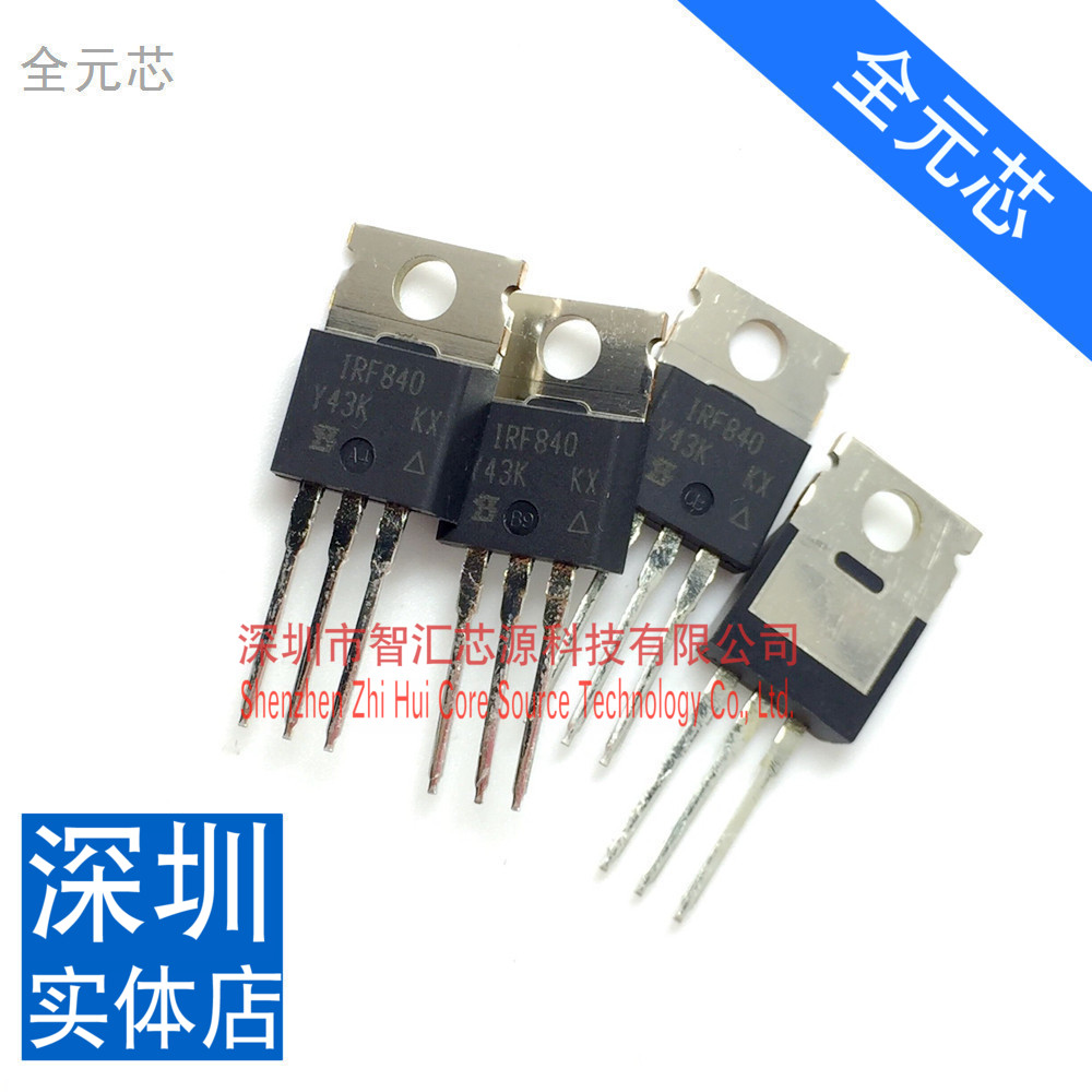 category:Electronic device,productName:Imported IRF840 N-channel FET