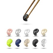 Super small mini wireless bluetooth headset stealth hear earplugs type general motion