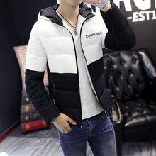 Men's Winter coat cotton-padded jackets pourpoint Warm clothes