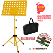 Practice color frame zither song lights guitar music sheet violin pupils file metal music stand