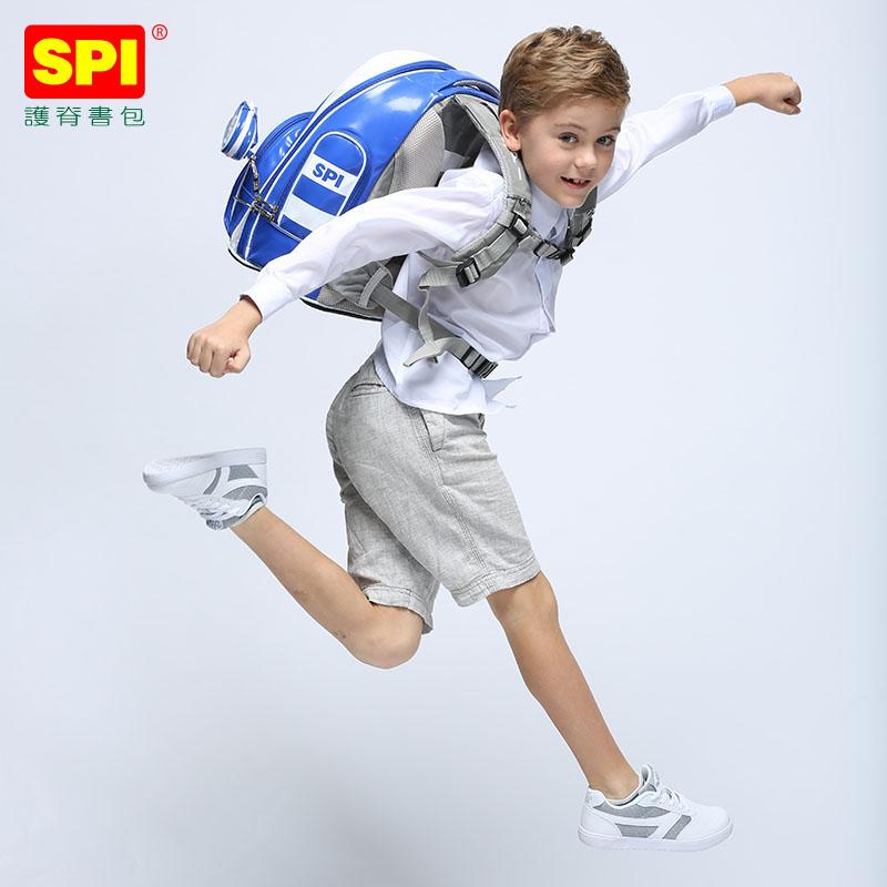 SPI书包小学生女童1-3-5一年级4-6儿童背包女孩女生6-12岁双肩包