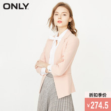 Full 400 minus 40ONLY2018 Amoi Seventh Sleeve Slim One button Small suit female 118108506