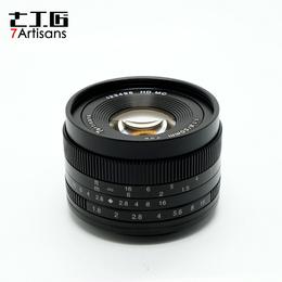 七工匠50mmF1.8大光圈微单定焦镜头e卡口佳能口 手动小痰盂50 1.8