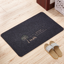 The door to the bedroom door doormat mat household household kitchen bathroom antiskid mat carpet cut absorbent pads