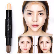 Double bar & high light pen to create three-dimensional silkworm V face silhouette Biying clavicle brighten lasting waterproof