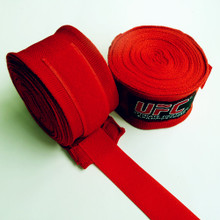 5 meters UFC elastic bandage boxing gloves to handle with hand tied with Muay Thai wrapped hand