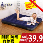 INTEX inflatable mattress, inflatable bed sheets, popular bed cushion, double lunch break, outdoor portable bed, inflatable mat, lunch bed