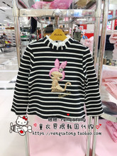 The discount payment counter purchasing Korean high-end brands French cat French cat winter T-shirt bottoming DCT260