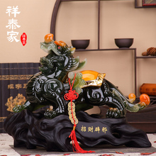 The opening of a large fortune brave decoration living room feng shui office desk Home Furnishing home decoration business gifts