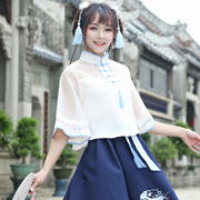 Han Fenghua is summer new modified Chinese costume Hanfu female students daily fresh air elemental Princess suit