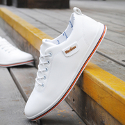 Autumn white men shoes sports shoes casual shoes Korean youth tide white shoe youth men's shoes