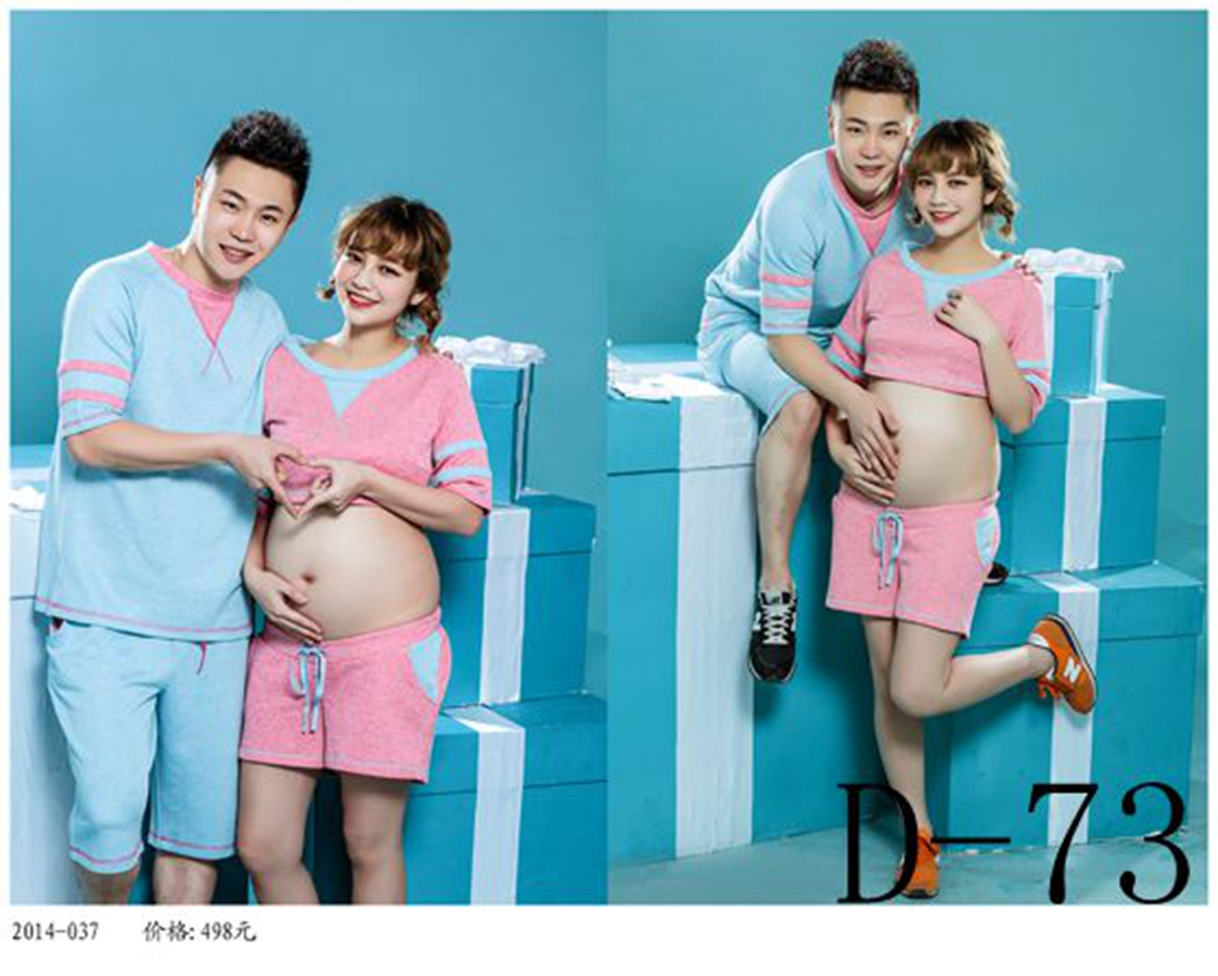 The new 2014 photography theme pregnant couples photo studio art as pregnant mammy photos garment 2016
