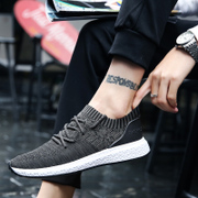 2017 the new trend of Korean male shoes all-match sports casual shoes men's shoes breathable shoes in autumn