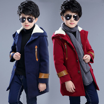 Childrens wear fall winter boys wool coat with 2016 new child in Korean version boys casual coat woolen cloth