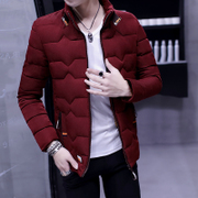 2016 new winter coat men thickening youth down padded short of cotton padded clothes Korean male student jacket