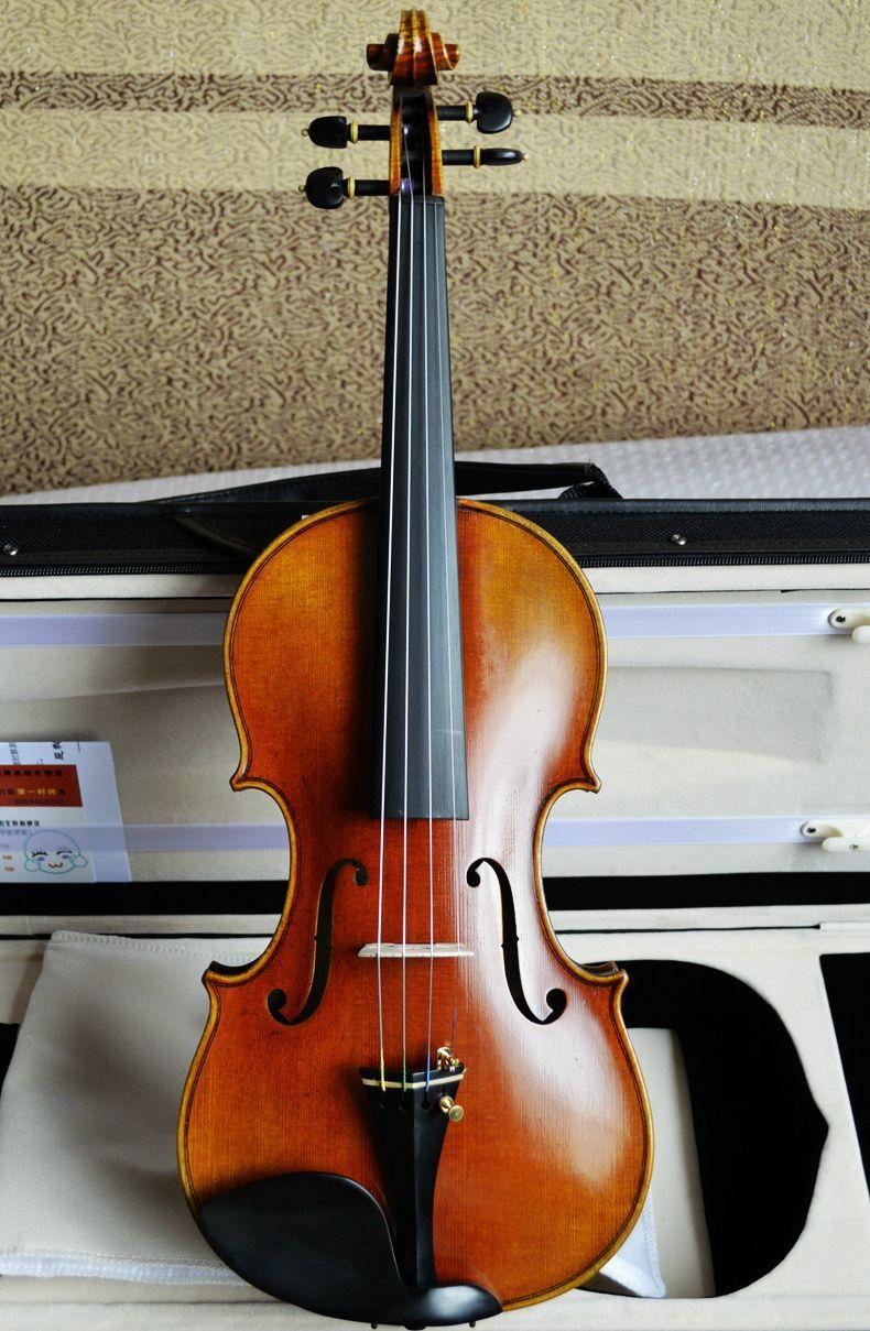 Selling Italy imports of spruce played professional manual tangent material single board violin bag mail