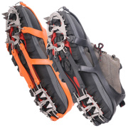The ice snow rain slip shoes 18 foot climbing mountaineering crampon tooth crampons snow claw sole stainless steel nail