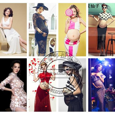 The new 2015 pictorial photography maternity pregnant women clothing pregnant theme photo costume studio pregnant women clothing