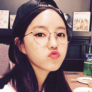 The retro metal spectacle frame myopia of male and female super light slender frame Korea Harajuku flat mirror