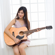 To the 40 inch 41 INCH RED GUITAR ballad guitar beginner entry Jita beginners to practice guitar musical students