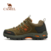 Hot selling 50 thousand camel outdoor hiking shoes men and women of autumn and winter anti slip outdoor shoes