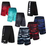 KD elite basketball basketball shorts pants size five pants dry loose pants shorts for summer fitness running