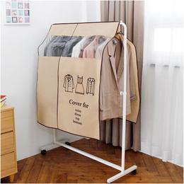 衣服收纳袋子挂衣物立体防尘袋无纺布落地衣架防尘罩套遮衣布家用