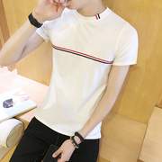 2 sets of summer Korean fashion men's short sleeve T-shirt half sleeve men's shirt