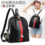 Waterproof backpack backpack bag bag Korean female 2017 new Oxford cloth bag canvas bag Mommy