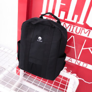 Japanese fashion trendsetter Black Canvas Backpack backpack bag B419-B530-P50 school students