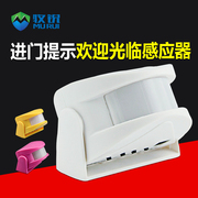 Hello, welcome to the voice prompt door bell sensor shop human body infrared receiver