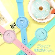 The new version of the small fresh female students watch fashion cute leisure quartz watch personality ulzzang