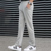 Men's trousers, men's casual pants, young men and women, spring and summer, pure cotton trousers, men's pants