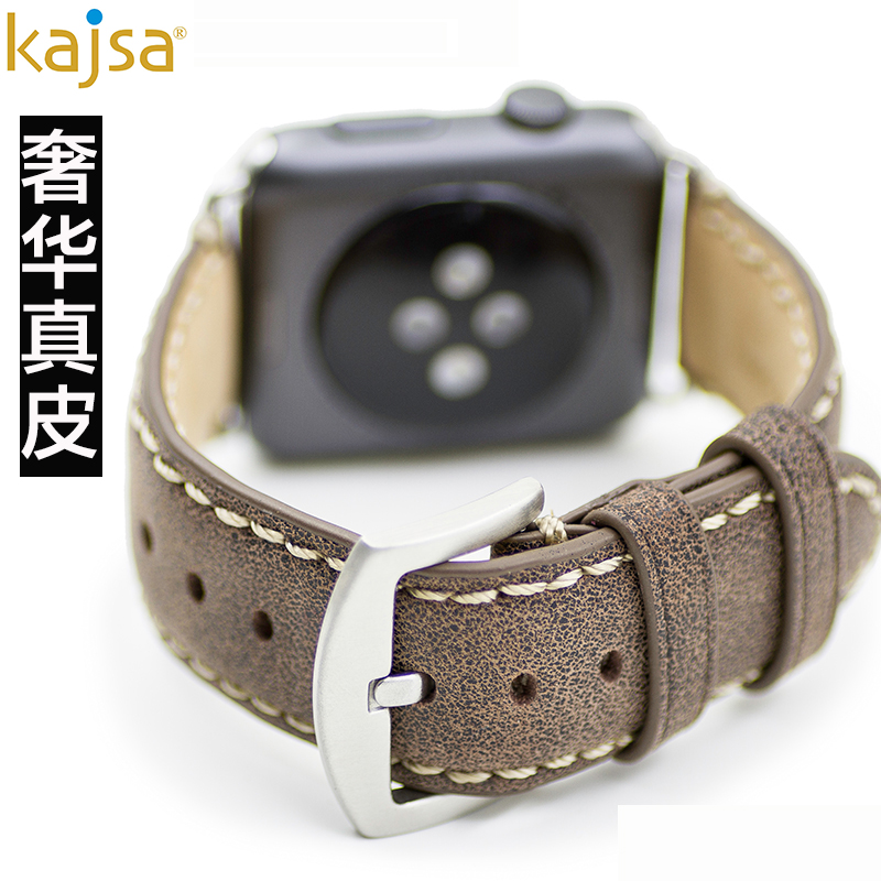 KAJSA watch strap leather Apple Apple smart watch strap watch with movement of men and women