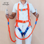 The lone passenger safety high-altitude operations with outdoor construction safety rope body five European electrical safety belt belt