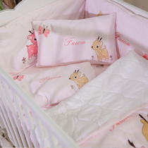 Blue Platinum baby cute deer story bedding cotton bedding